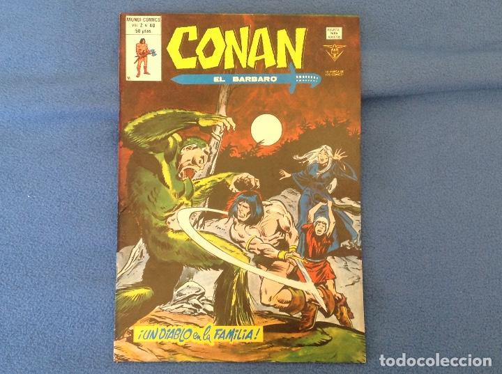 VOLUMEN DOS NUMERO 40 (Tebeos y Comics - Vértice - Conan)
