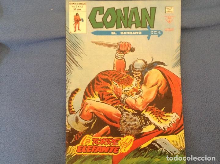 VOLUMEN DOS NUMERO 42 (Tebeos y Comics - Vértice - Conan)