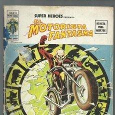 Comics: SUPER HÉROES VOLUMEN 2, 15: MOTORISTA FANTASMA, 1975, VERTICE. COLECCIÓN A.T.. Lote 199910562