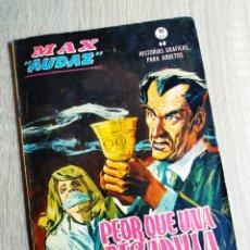 Cómics: NORMAL ESTADO MAX AUDAZ 16 VERTICE TACO GRAPA. Lote 200005827