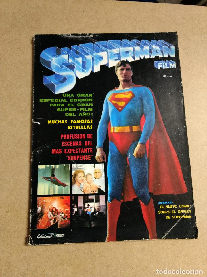 Cómics: SUPERMAN EL FILM REVISTA COMIC EDICIONES VERTICE 1979 - Foto 1 - 200049437