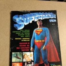 Cómics: SUPERMAN EL FILM REVISTA COMIC EDICIONES VERTICE 1979. Lote 200049437