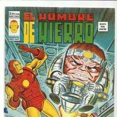 Comics : EL HOMBRE DE HIERRO, EXTRA DE NAVIDAD, 1976, VERTICE, MUY BUEN ESTADO. COLECIÓN A.T.. Lote 200580230