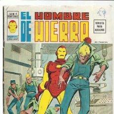 Comics : EL HOMBRE DE HIERRO VOLUMEN 2 NÚMERO 4, 1974, VERTICE. COLECCIÓN A.T.. Lote 200580747