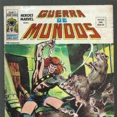 Comics: HEROES MARVEL, VOLUMEN 2 NÚMERO 21, 1976, VERTICE, BUEN ESTADO. COLECCIÓN A.T.. Lote 200636303