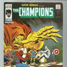 Cómics: SUPER HÉROES VOLUMEN 2, 85: THE CHAMPIONS, 1976, VERTICE, BUEN ESTADO. COLECCIÓN A.T.. Lote 286281393