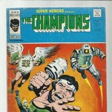Comics: SUPER HÉROES VOLUMEN 2, 76: THE CHAMPIONS, 1977, VERTICE, BUEN ESTADO. COLECCIÓN A.T.. Lote 200739668