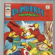 Comics : SUPER HÉROES VOLUMEN 2, 69: DR. MUERTE Y NAMOR, 1976, VERTICE, MUY BUEN ESTADO. COLECCIÓN A.T.. Lote 200741863