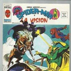 Comics : SUPER HÉROES VOLUMEN 2, 48: SPIDER-MAN Y LA VISIÓN, 1976, VERTICE, MUY BUEN ESTADO. COLECCIÓN A.T.. Lote 200746610
