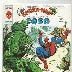 Comics : SUPER HÉROES VOLUMEN 2, 38: SPIDER-MAN Y EL HOMBRE COSA, 1976, VERTICE. COLECCIÓN A.T.. Lote 200749457