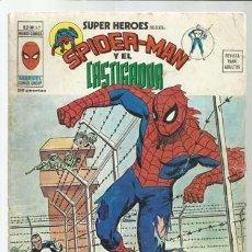 Comics : SUPER HÉROES VOLUMEN 2, 37: SPIDER-MAN Y EL CASTIGADOR, 1975, VERTICE. COLECCIÓN A.T.. Lote 200749702