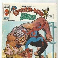 Comics : SUPER HÉROES VOLUMEN 2, 36: SPIDER-MAN Y DOC SAVAGE, 1976, VERTICE, MUY BUEN ESTADO. COLECCIÓN A.T.. Lote 200749946