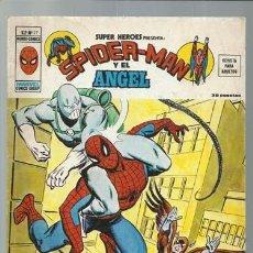 Comics : SUPER HÉROES VOLUMEN 2, 27: SPIDER-MAN Y EL ÁNGEL, 1975, VERTICE, MUY BUEN ESTADO. COLECCIÓN A.T.. Lote 200754732