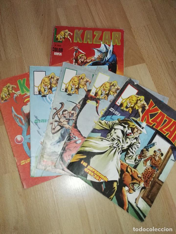 KA-ZAR SURCO COMPLETA (Tebeos y Comics - Vértice - Surco / Mundi-Comic)