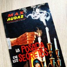 Cómics: MUY BUEN ESTADO MAX AUDAZ 6 TACO VERTICE GRAPA. Lote 200879375