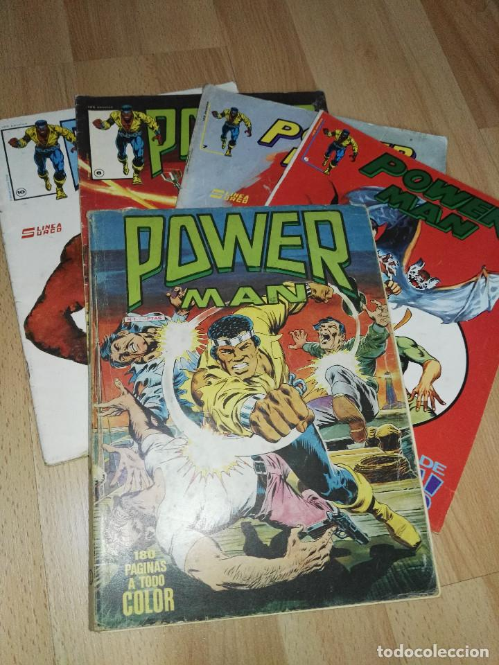 'POWER-MAN' SURCO (Tebeos y Comics - Vértice - Surco / Mundi-Comic)