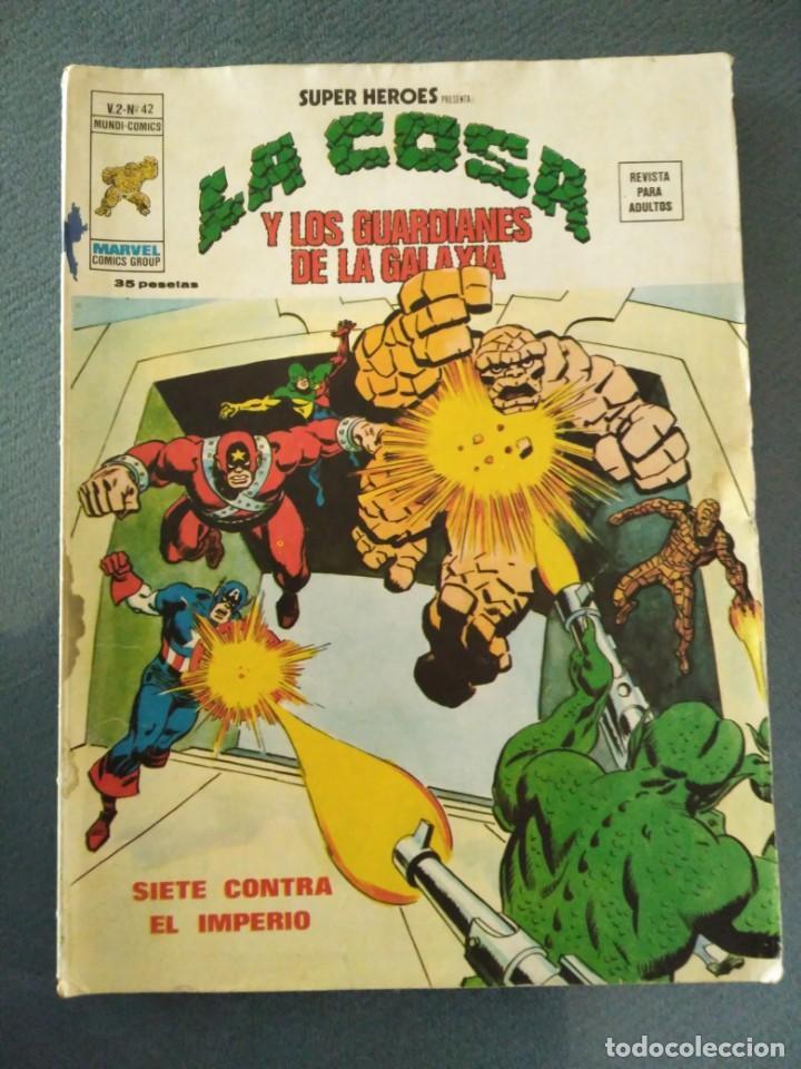 CÓMIC LA COSA V.2 Nº42 (Tebeos y Comics - Vértice - V.2)