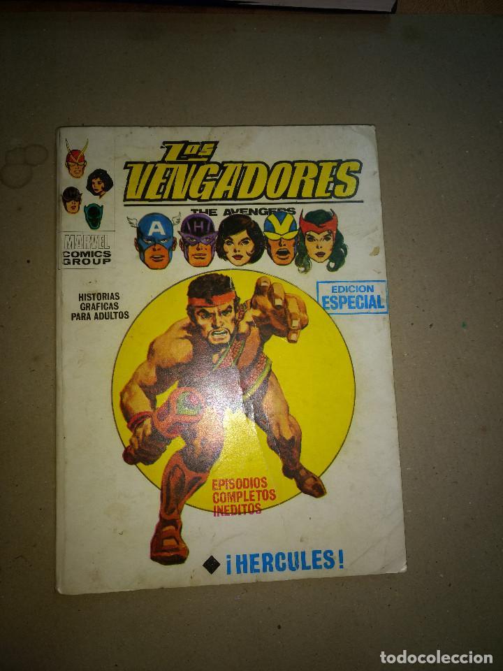 LOS VENGADORES VOL.1 Nº 17 VÉRTICE AÑOS 70 DE 25PTAS (Tebeos y Comics - Vértice - V.1)