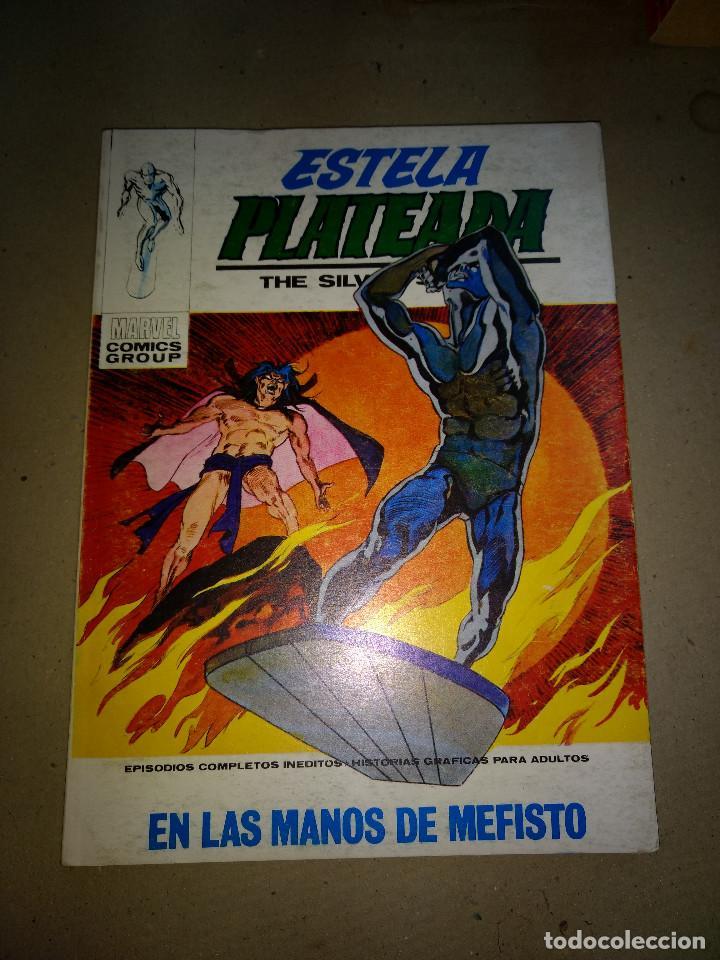 ESTELA PLATEADA VOL.1 Nº 12 ULTIMO NUMERO VÉRTICE AÑOS 70 DE 25PTAS (Tebeos y Comics - Vértice - V.1)