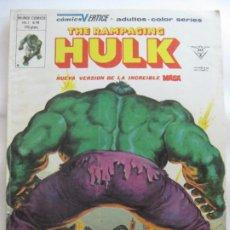 Comics : THE RAMPAGING HULK Nº14. Lote 201232975