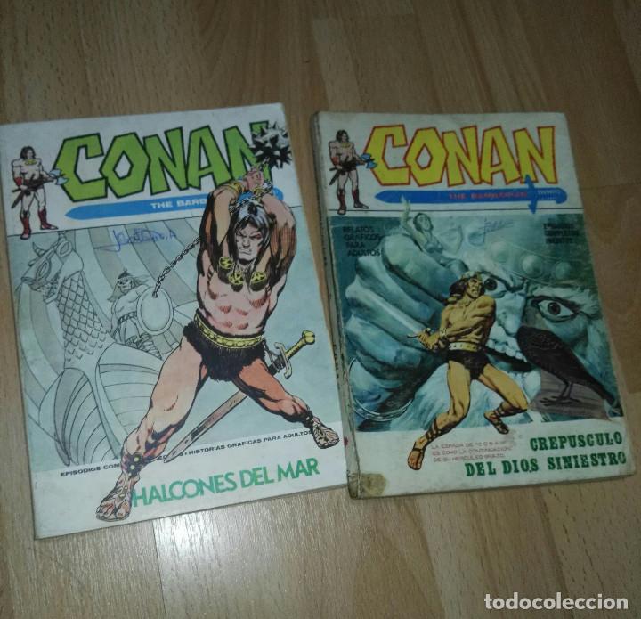 DOS COMICS CONAN VERTICE VOL 1 (Tebeos y Comics - Vértice - V.1)