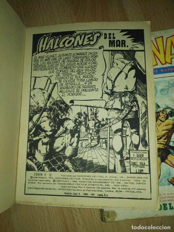 Cómics: Dos comics Conan Vertice Vol 1 - Foto 6 - 201527955