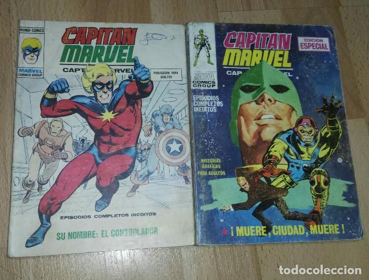DOS COMICS 'CAPITAN MARVEL' VÉRTICE VOL. 1 (Tebeos y Comics - Vértice - V.1)