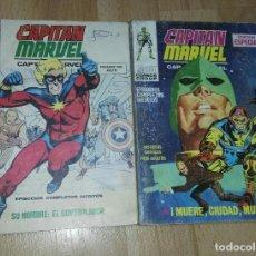Cómics: DOS COMICS 'CAPITAN MARVEL' VÉRTICE VOL. 1. Lote 201528518