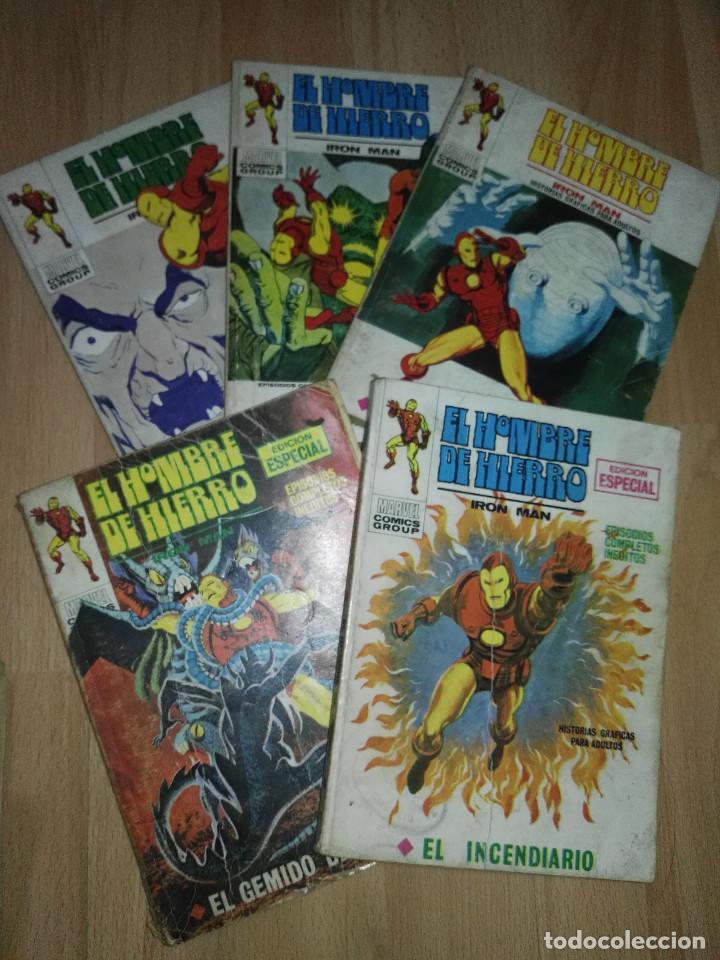 LOTE VERTICE HOMBRE DE HIERRO VOL. 1 (Tebeos y Comics - Vértice - V.1)