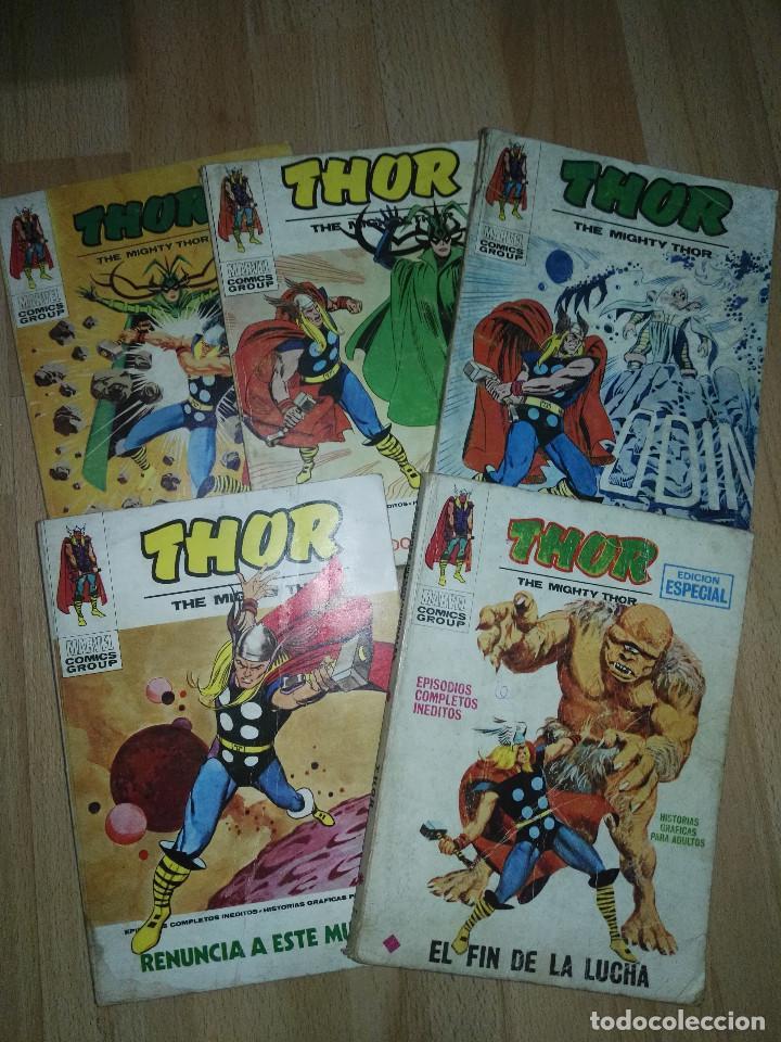 LOTE THOR VERTICE VOL. 1 (Tebeos y Comics - Vértice - V.1)