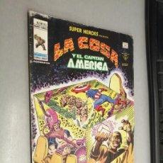 Comics : SÚPER HÉROES PRESENTA: LA COSA Y EL CAPITÁN AMÉRICA V. VOL. 2 Nº 103 / VÉRTICE. Lote 201534373