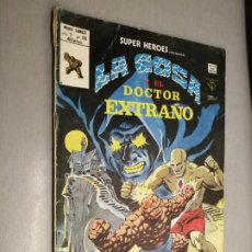 Comics : SÚPER HÉROES PRESENTA: LA COSA Y EL DOCTOR EXTRAÑO V. VOL. 2 Nº 116 / VÉRTICE. Lote 201535432