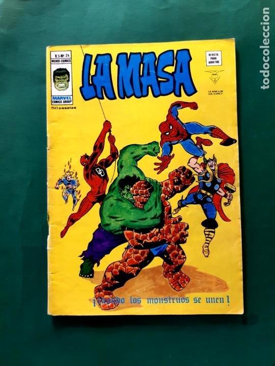 LA MASA Nº 24 BUEN ESTADO V3 (Tebeos y Comics - Vértice - La Masa)