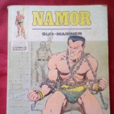 Cómics: NAMOR - UN SUBMARINO DORADO - TOMO Nº32 - EDICIONES VERTICE - 1973 - 128 PAGINAS. Lote 201706497