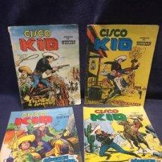 Cómics: CISCO KID LOTE DE 4 23X18CMS NUM 2 3 4 5. Lote 201710202