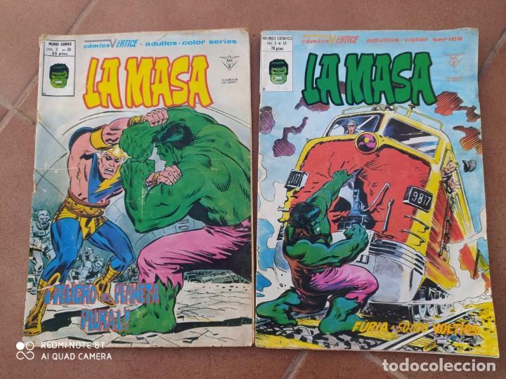 COMICS LA MASA 38,41, VERTICE (Tebeos y Comics - Vértice - La Masa)