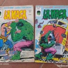 Cómics: COMICS LA MASA 38,41, VERTICE. Lote 201769358