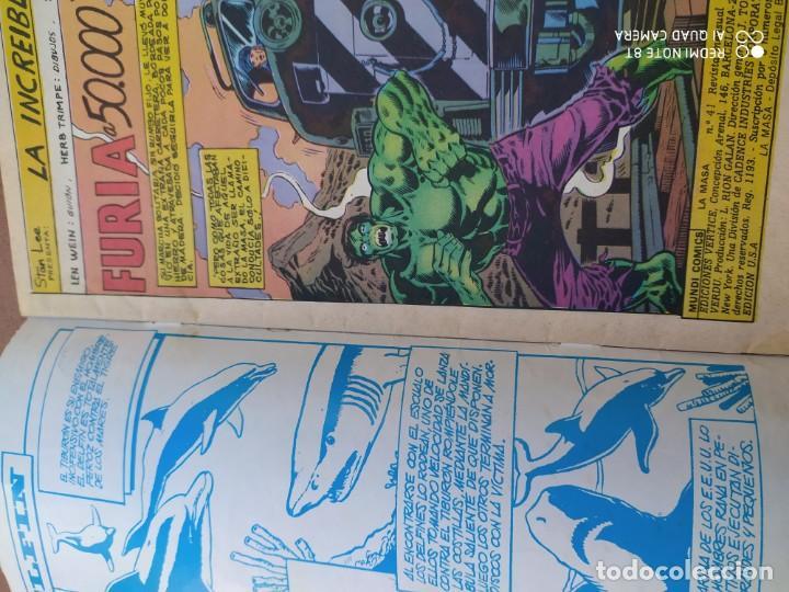 Cómics: Comics la masa 38,41, vertice - Foto 2 - 201769358