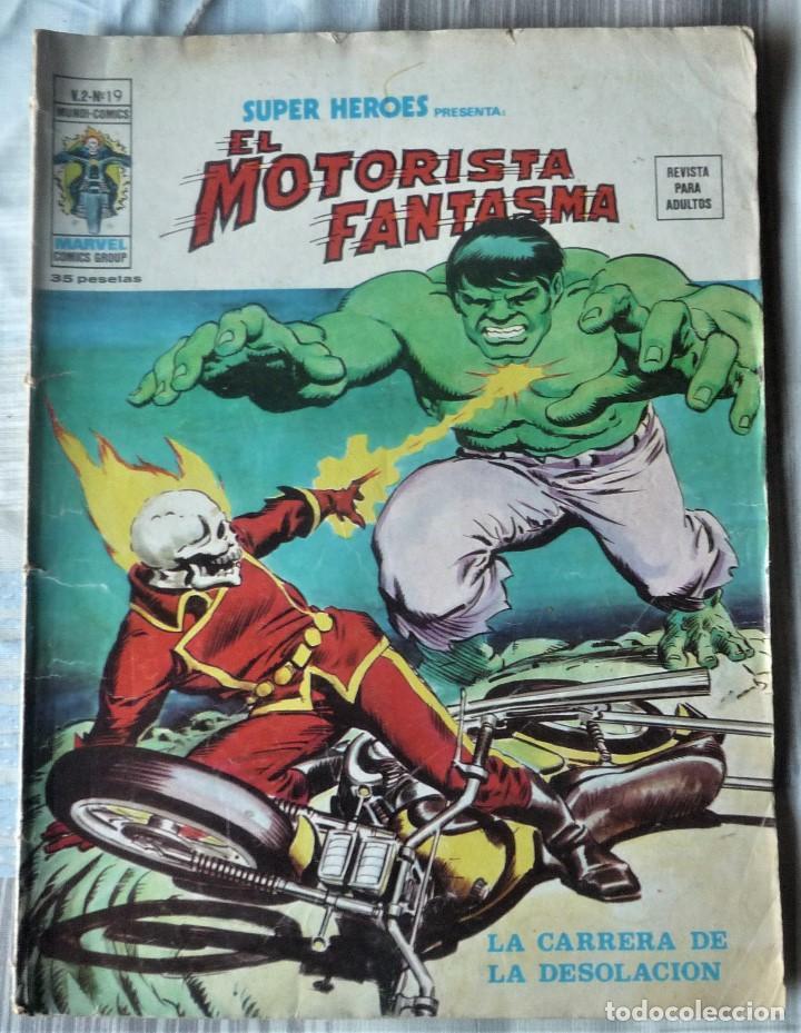 SUPER HEROES Nº 19 EL MOTORISTA FANTASMA (Tebeos y Comics - Vértice - Super Héroes)