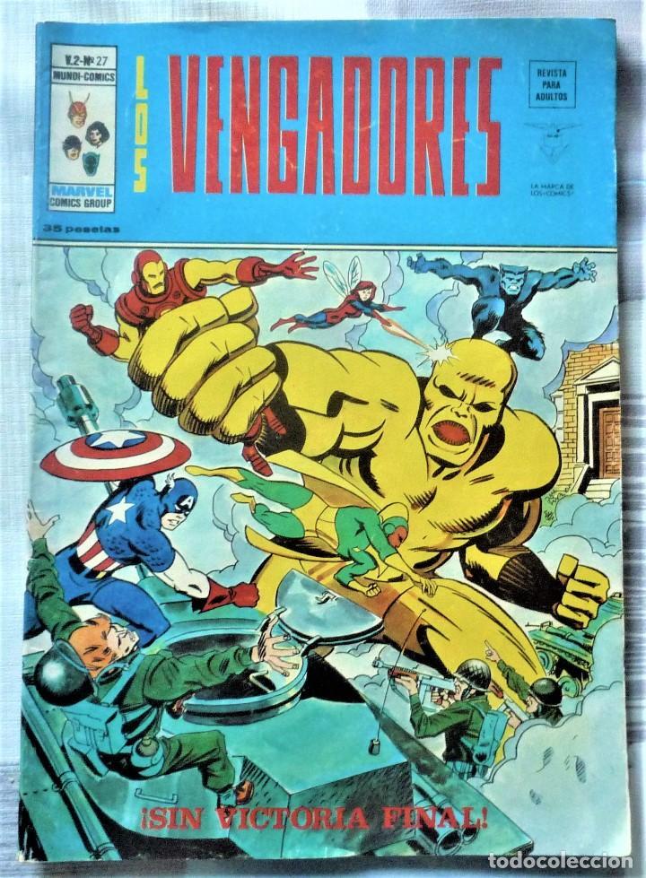 LOS VENGADORES V.2 Nº 27 (Tebeos y Comics - Vértice - Vengadores)