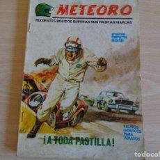 Cómics: METEORO Nº 2. A TODA PASTILLA. TACO. VERTICE 1972. Lote 201902812