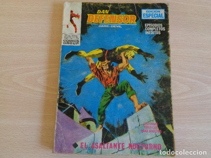 DAN DEFENSOR VOL. 1 Nº 11. EL ASALTANTE NOCTURNO. TACO. VERTICE 1970 (Tebeos y Comics - Vértice - Dan Defensor)
