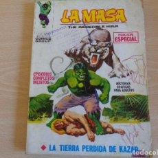 Comics : LA MASA VOL.1 Nº 4. LA TIERRA PERDIDA DE KAZAR. TACO. VERTICE. Lote 201905511