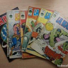 Comics : LA MASA - V 3 - LOTE DE 7 NÚMEROS - VERTICE - VER TODAS LAS PORTADAS - SE VENDEN SUELTOS. Lote 201978193
