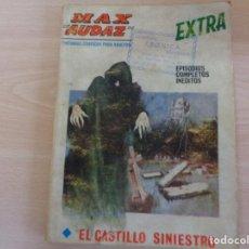 Cómics: MAX AUDAZ EXTRA Nº 21. EL CASTILLO SINIESTRO. VERTICE 1970. Lote 202004775
