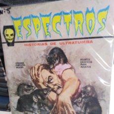 Cómics: ESPECTROS-Nº5, QUIERO SER VAMPIRO, 1972,HISTORIAS DE ULTRATUMBAS, VERTICE. Lote 202101148