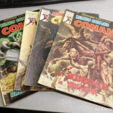Comics : RELATOS SALVAJES V. VOL. 1 CONAN / LOTE 4 NÚMEROS / VÉRTICE. Lote 202252318