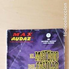 Cómics: MAX AUDAZ EL MISTERIO DEL CASTILLO - EDICIONES VERTICE - Nº7. Lote 202260008