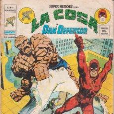 Cómics: CÓMIC VÉRTICE V.2 ´ SUPER HEROES ´ Nº 41 VOL.2 MARVEL ¨LA COSA Y DAN DEFENSOR 1976. Lote 202495987
