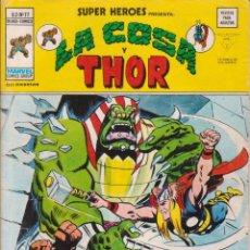 Comics : CÓMIC VÉRTICE V.2 ´ SUPER HEROES ´ Nº 77 VOL.2 MARVEL ´ LA COSA Y THOR ´ 1977. Lote 202496366